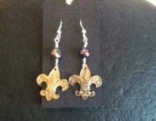 Boy Scout Pin Earrings #435