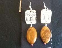 Indian Tray Earrings  #429