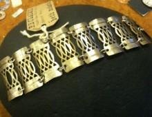 Metal Lace Bracelet #87